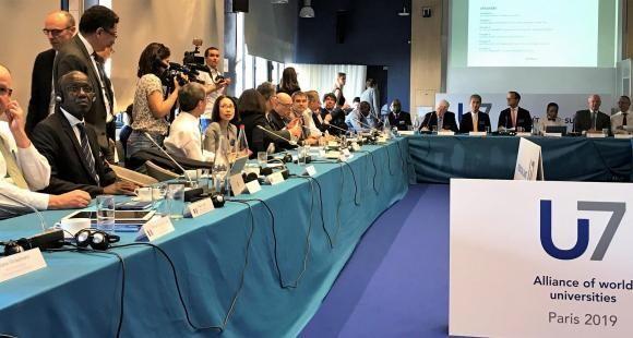 G7 de Biarritz : les grandes universités s'invitent à l'agenda et prennent des engagements concrets
