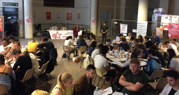 """T. Moreau : """"Avec la FSE, nous voulons être plus proches des étudiants dans leur quotidien"""""""