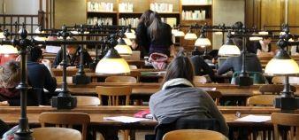80 étudiants de la faculté d'économie et de gestion de l'université de Bordeaux ont été recalés en master. //©Camille Stromboni