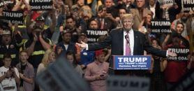 Donald Trump fait face à plusieurs procès d'étudiants qui estiment avoir été trompés sur le projet de la Trump University. //©TY WRIGHT/The New York Times-REDUX-REA