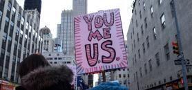 Depuis la signature du décret migratoire, les manifestations de protestation se multiplient aux États-Unis. //©Henny Garfunkel/REDUX-REA