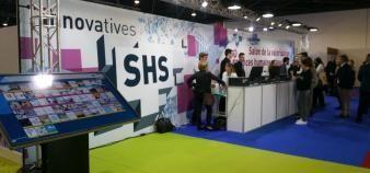 À Marseille, la troisième édition du salon Innovatives SHS a attiré en moyenne près de 500 personnes par jour. //©Martin Clavey