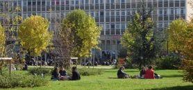 Campus de l'université de Nanterre //©Communication Université Paris Ouest Nanterre La Défense