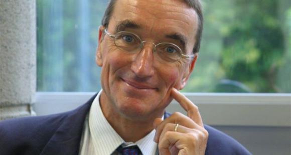 Philippe Le Glas, directeur de l'ESC Brest