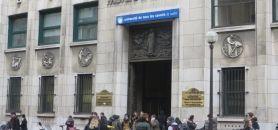 Université Paris-Descartes - Entrée du centre universitaire des Saints-PèresEnviron 1.880 bacheliers ont voulu s'inscrire à Paris-Descartes en 2015, soit au moins 100 de plus qu'en 2014. //©Virginie Bertereau