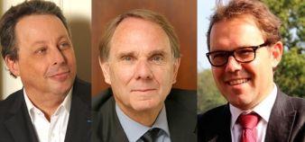 Frédéric Dardel (Paris 5), Yvon Berland (Aix-Marseille) et Gilles Roussel (Paris-Est-Marne-la-Vallée) se représentent pour un second mandat. //©Montage EducPros
