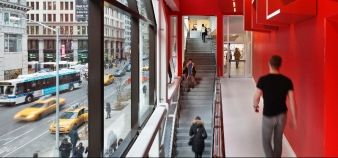 Ecole Parsons - New-York - The New school university center architectural photography // © James Ewing