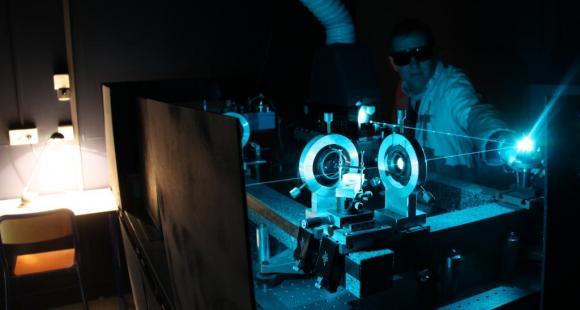 Le laboratoire d'optique de l'université d'Orléans // ©Université d'Orléans - JS Loiseau.