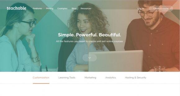 Teachable, outil de publication de MOOC