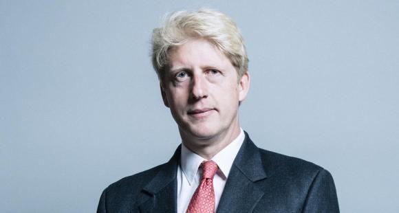 """Joseph """"Jo""""Johnson a démissionné de son poste de ministre des universités le 5 septembre dans le gouvernement de son frère Boris Johnson"""