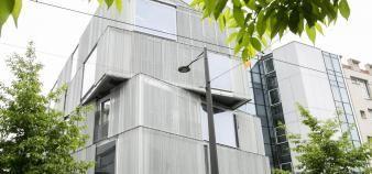Les enseignants des écoles nationales supérieures d'architecture (comme celle de Strasbourg) réclament plus de moyens. //©Frédéric Maigrot/REA