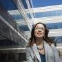 Michelle Weise, chercheur au Clayton Christensen Institute (Californie) //©Darcy Padilla / Agence Vu pour L'Étudiant