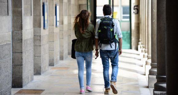 Touls les lycées à classes préparatoires doivent signer des conventions avec les universités selon la loi ESR de juillet 2013. //©Stephane AUDRAS/REA