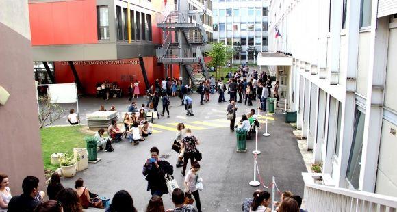 Parvis de Paris 3 - Sorbonne Nouvelle