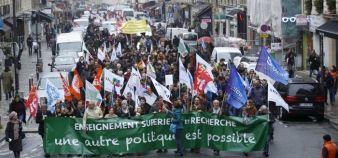 Manifestation du 16 octobre contre l'austérité //©Nicolas Tavernier / R.E.A