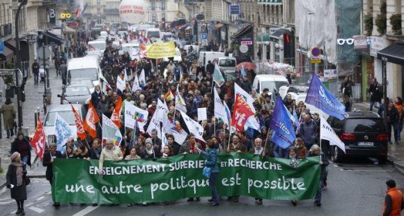 Manifestation du 16 octobre contre l'austérité