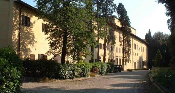 Vue de la villa Finaly à Florence, propriété des universités de Paris ©  E2photographers