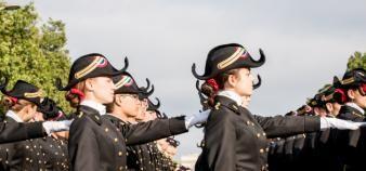Dans son dernier rapport annuel, la Cour des comptes souligne le lien ténu entre l'école Polytechnique et le ministère des Armées. //©Olivier SAINT-HILAIRE/HAYTHAM-REA
