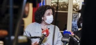 L'enquête demandée par Frédérique Vidal au CNRS sur l'islamo-gauchisme ravive les polémiques. //©Thierry STEFANOPOULOS/REA