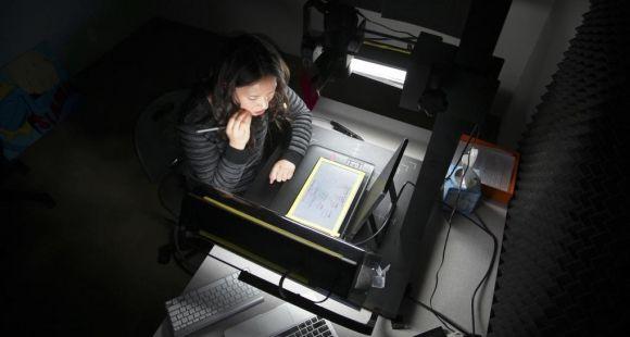 Élaboration d'un Mooc dans le studio d'Udacity en Californie (États-Unis) - 2013 // ©Jim Wilson/NYT-Redux-Rea