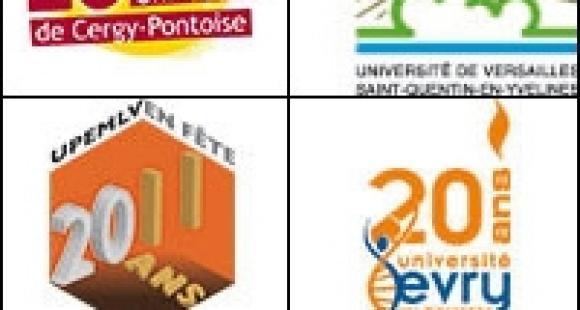 20 ans 4 universités - LOGO