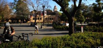 L'université de Stanford (Etats-Unis) - mars 2013  // ©H.Allaire