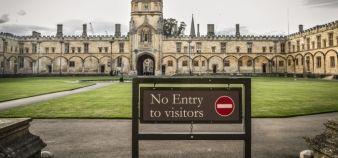 Oxford, comme les autres établissements d'enseignement supérieur du Royaume-Uni, accueille chaque année 200.000 étudiants européens. //©Eric TSCHAEN/REA