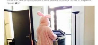 Rémy Challe, le directeur de l'Inseec BS, se met en scène sur les réseaux sociaux. //©Capture d'écran