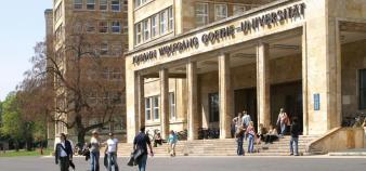 L'université Johann Wolfgang Goethe à Francfort