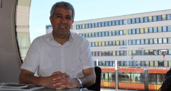 Rachid El Guerjouma, président de l'université du Maine - avril 2014