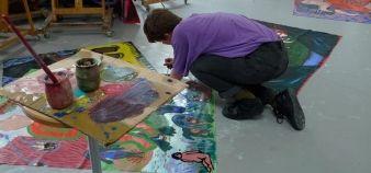 Ensad - studio peinture ©Laurence Sudre - Ensad