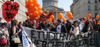 Manifestation parisienne du 2 avril 2009