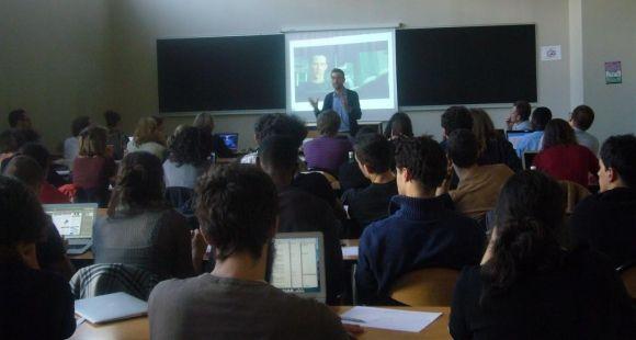 Formation des doctorants de Sorbonne Paris Cité à la pédagogie universitaire ©S.Blitman - octobre 2014