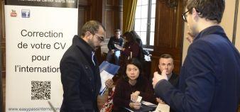 1.500 docteurs et doctorant ont pu rencontrer 62 entreprises à la Cité internationale de Paris. //©Frédéric Poletti/USPC