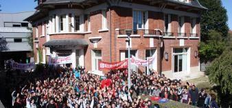 L'EPF installée à Sceaux devrait déménager à Cachan, dans l'un des anciens bâtiments de l'école normale supérieure, à la rentrée 2021. //©EPF