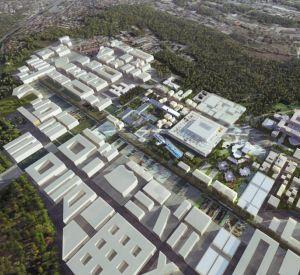 L'Université Paris-Saclay disposera d'un budget d'environ 1 milliard d'euros. //©EPA Paris-Saclay / OMA