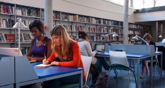 La bibliothèque de l'IESEG