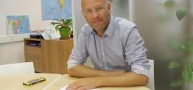 Rodolphe Dalle est vice-président et porte-parole de l'ADIUT, ainsi que directeur de l'IUT de Nantes. //©Delphine Dauvergne