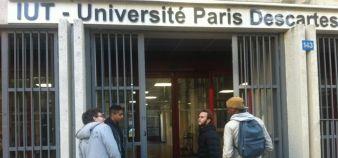 """""""Laissez-nous faire"""", demandent les IUT à Najat Vallaud-Belkacem, après l'annonce de la ministre sur la mise en place de quotas minimum de bacheliers technologiques par arrêté. //©Isabelle Dautresme"""