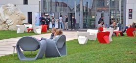 Le centre universitaire Jean-François-Champollion à Albi //©CUJFR
