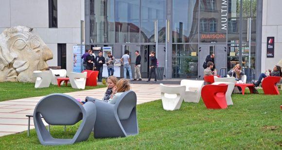 Le centre universitaire Jean-François-Champollion à Albi