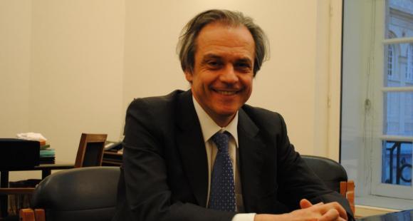Louis Vogel - ancien président de l'université Paris 2 Assas et de la CPU - mars 2012 - ©C.Stromboni