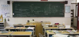 Les mathématiques font partie des disciplines concernées par le manque d'enseignants. //©plainpicture/dianacoca