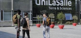 UniLaSalle est l'un des 58 établissements labellisés Eespig. Son directeur, Philippe Choquet, est également le président de la Fesic. //©Unilasalle