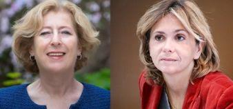 Geneviève Fioraso, secrétaire d'Etat à l'Enseignement supérieur et à la recherche, et Valérie Pécresse, député UMP ancienne ministre //©MESR