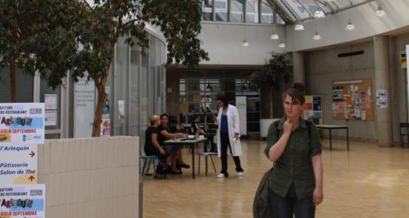 Université Paris-Est Marne-la-Vallée, bâtiment Copernic. (D.R.)
