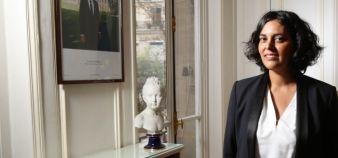Myriam El Khomri succède à François Rebsamen au ministère du Travail. //©Hamilton / R.E.A