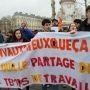Manifestation le 9 mars 2016 contre le projet de loi El Khomri à Paris. //©Etienne Gless