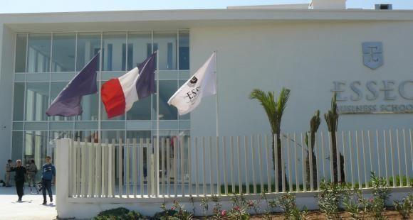 IInauguré au printemps, le nouveau campus marocain de l'Essec a accueilli en septembre 2017 ses premiers étudiants..