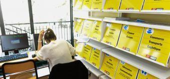 Une réforme des antennes régionales de l'ONISEP et des CIO est en préparation //©Stephane AUDRAS/REA